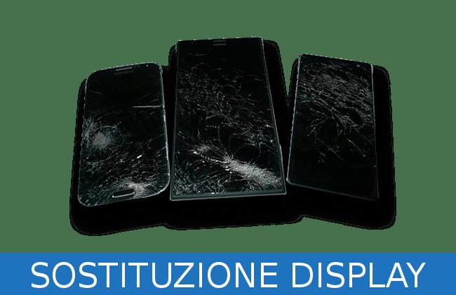 riparazioni display e vetro rotto genova
